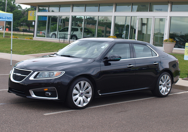 2011 Saab 9-5 Aero XWD - All Photos by Randy Stern