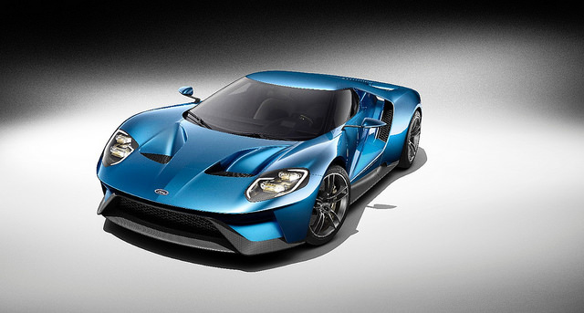 Ford GT Concept - Photo courtesy of The Ford Motor Company
