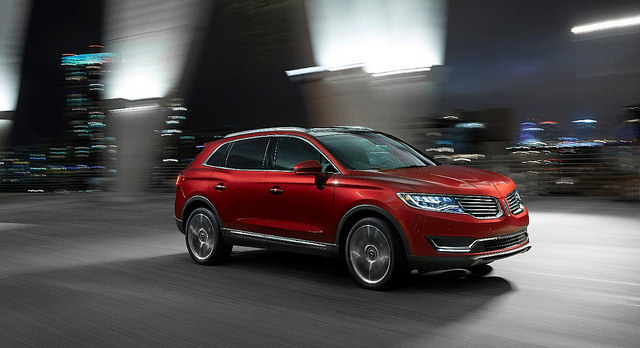 2016 Lincoln MKX - Photo courtesy of the Ford Motor Company