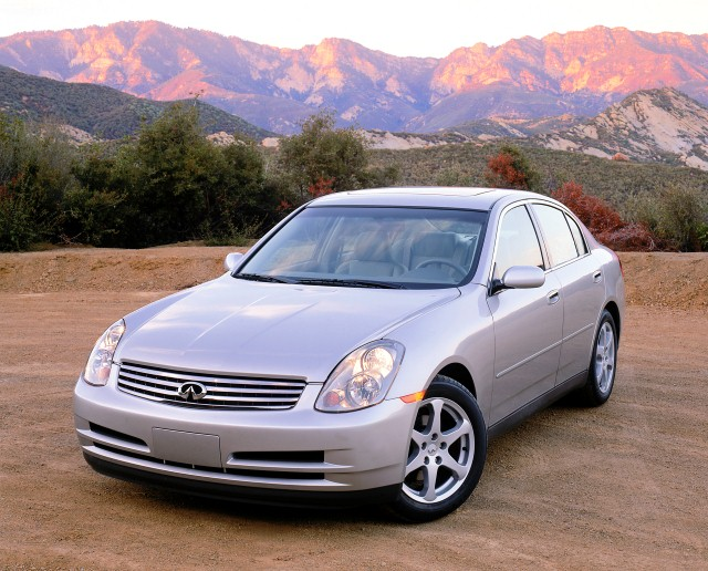 2003 Infiniti G35 - Photo Courtesy of Infiniti