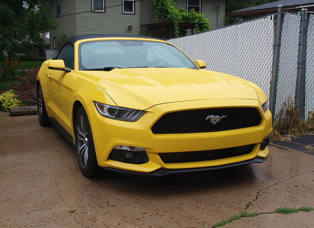 2015 Ford Musang EcoBoost Premium convertible - Photo by Randy Stern