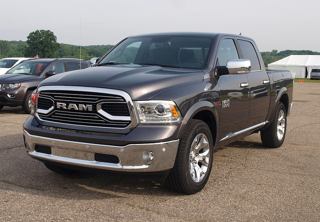 2016 Ram 1500 Laramie Limited with the EcoDiesel engine