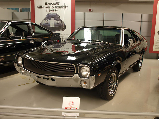 1968 AMX at the Walter P. Chrysler Museum - All Photos by Randy Stern