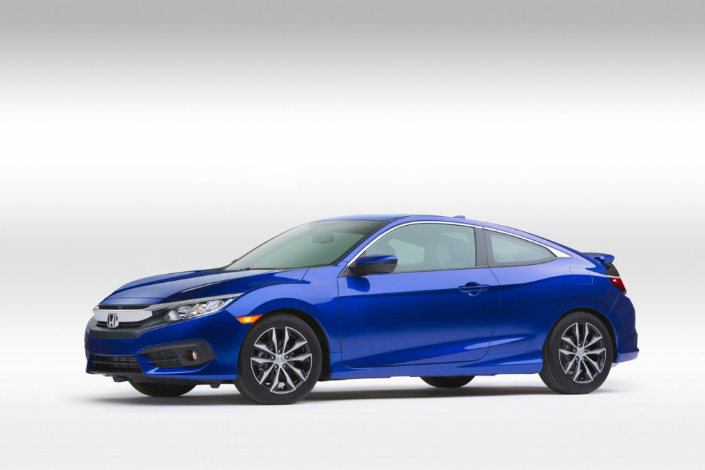 2016 Honda Civic Coupe - Photo courtesy of American Honda