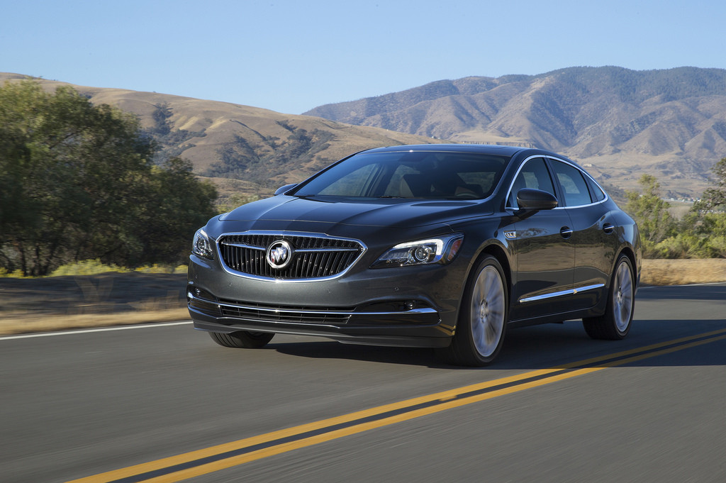 2017 Buick LaCrosse - Photo courtesy of General Motors