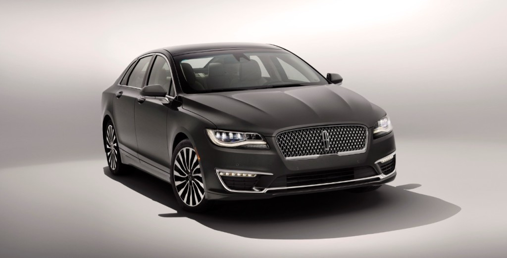 2017 Lincoln MKZ - Photo courtesy of The Ford Motor Company