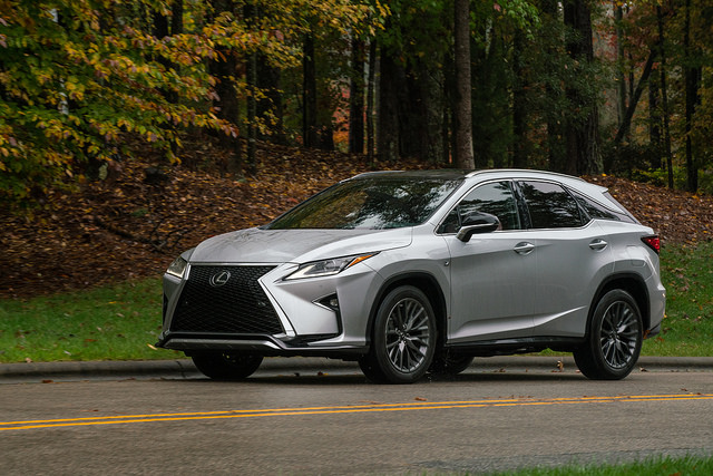 2016 Lexus RX 350 F Sport AWD - Photo by David Dewhurst/Dewhurst Photography for Lexus/Victory & Reseda