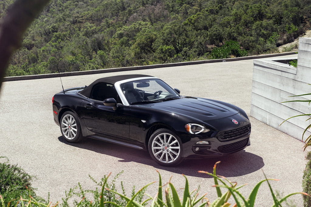2017 Fiat 124 Spider - Photo courtesy of Fiat Chrysler Automobiles