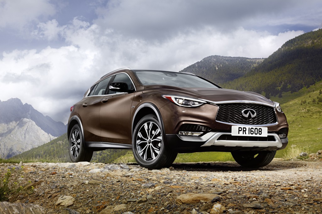 2017 Infiniti QX30 - Photo courtesy of Nissan North America