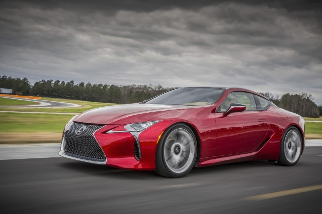 Lexus LC 500 - Photo courtesy of Toyota Motor Sales USA