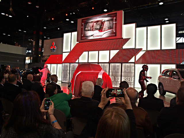 A scene from the 2015 Chicago Auto Show - Photo by Randy Stern
