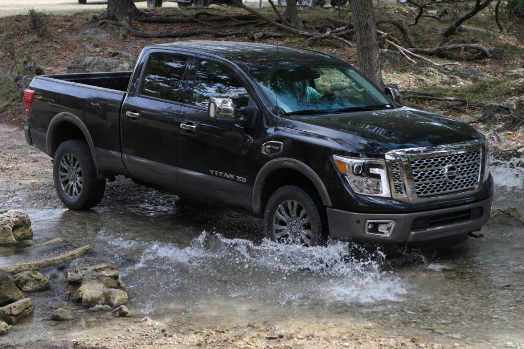 2016 Nissan Titan XD 4X4 Platinum Reserve - All photos courtesy of Nissan North America