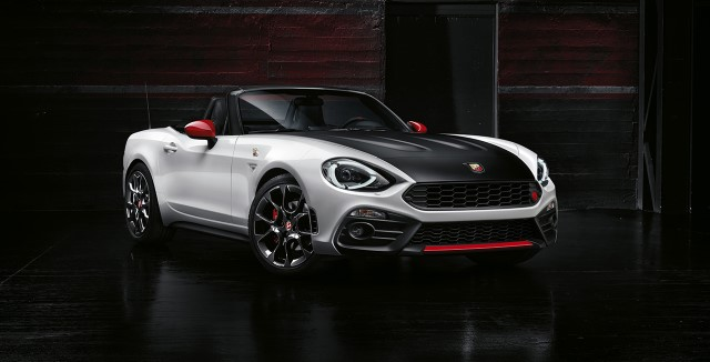 Abarth 124 Spider - Photo provided by Fiat Chrysler Automobiles