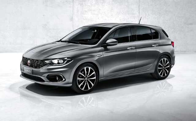 Fiat Tipo hatchback - Photo courtesy of Fiat Chrysler Automobiles