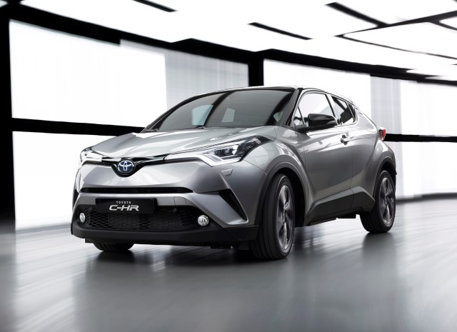 Toyota C-HR - Photo provided by Toyota Europe