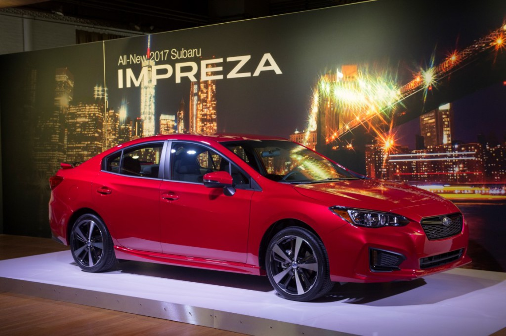 2017 Subaru Impreza - Photo courtesy of Subaru of America