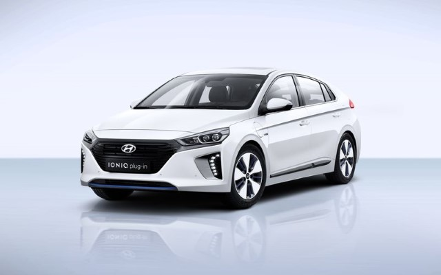 Hyundai Ioniq Plug-In - Photo provided by Hyundai Europe