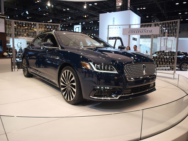 2017 Lincoln Continental - All Photos by Randy Stern