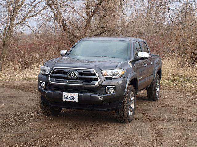 2016 Toyota Tacoma Limited Double Cab 4X4 - All Photos by Randy Stern