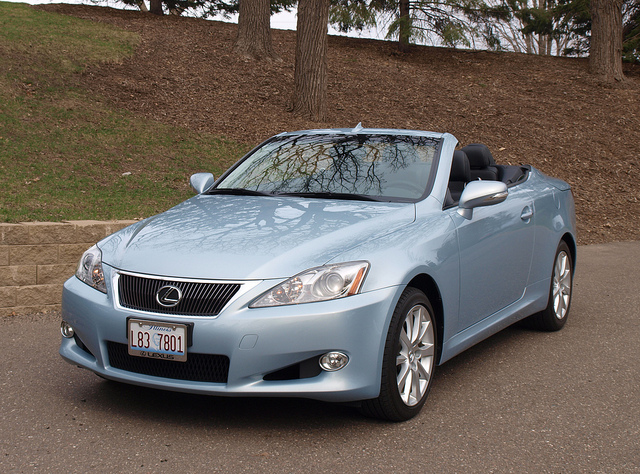 It all began with this vehicle...2011 Lexus IS 250C - All Phtos by Randy Stern