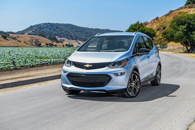 2017 Chevrolet Bolt EV -Photo courtesy of General Motors