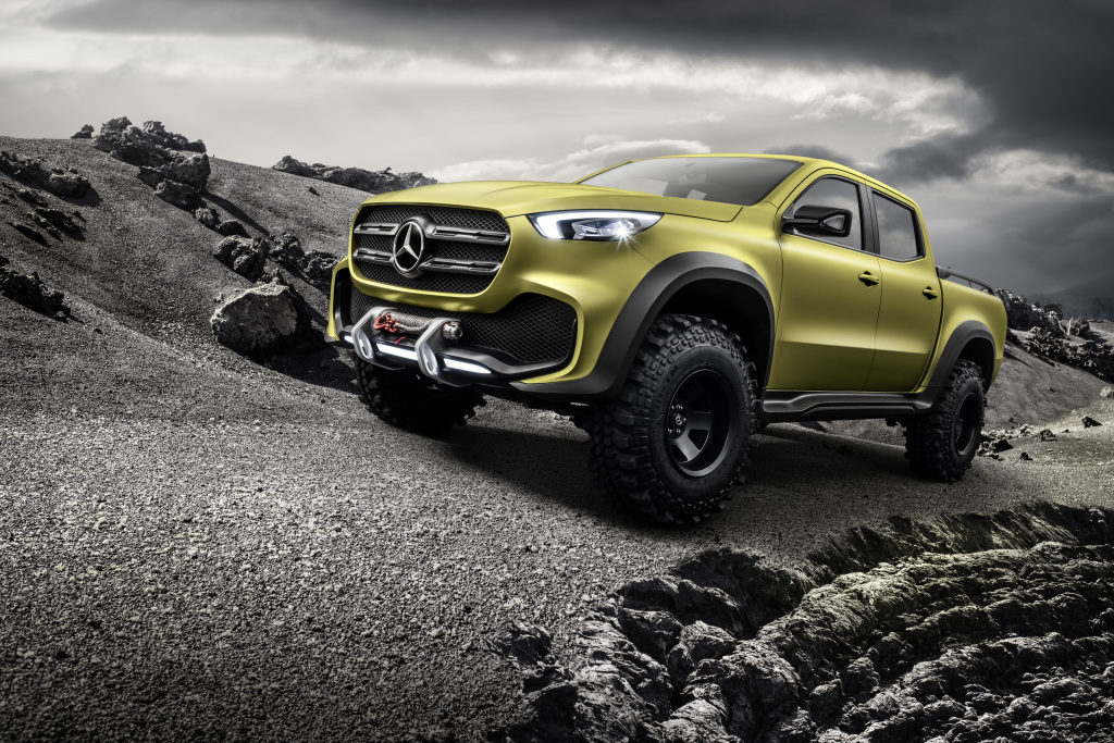 Mercedes-Benz Concept X-CLASS - Photo provided by Daimler AG